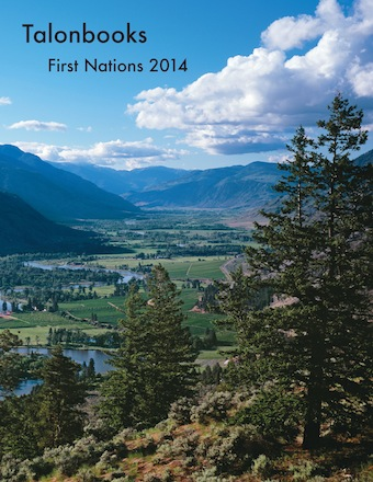 [image: Talonbooks 2014 First Nations catalogue]