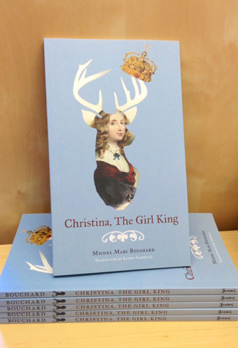 [image: Christina, The Girl King on display]