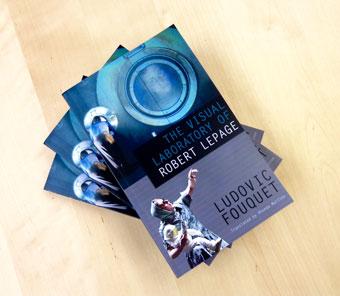 [image: three copies of The Visual Laboratory of Robert Lepage]