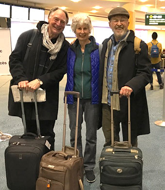 [Colin Browne, Daphne Marlatt, and Fred Wah – March 2017 eastern US tour]
