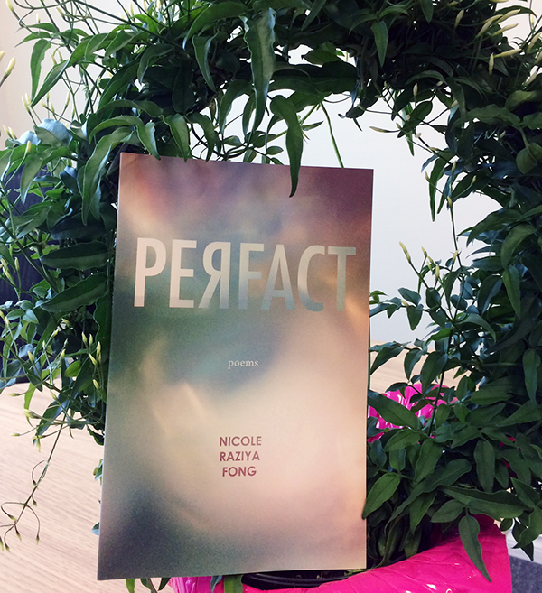 Picture of Perfact with a wreath-shaped plant.