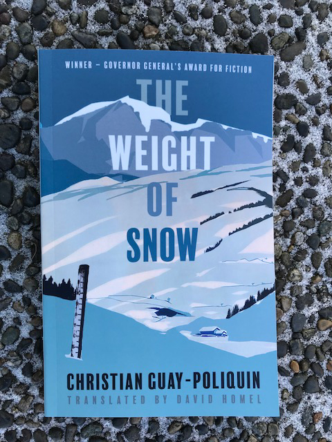Picture of the cover of The Weight of Snow.