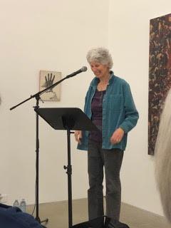 Daphne Marlatt reading