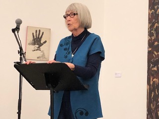 Gladys Maria Hindmarch reading