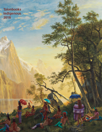 Cover of Talonbooks 2018 Indigenous Catalogue