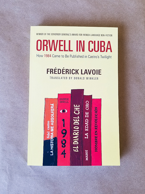 cover of Orwell in Cuba