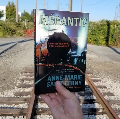 Cover image of Mégantic.