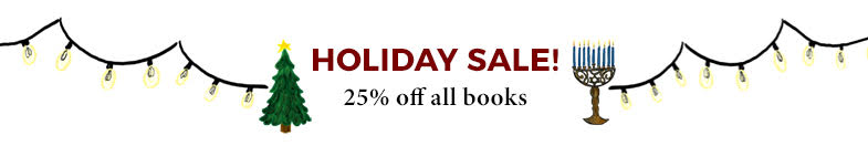Holiday Sale 25% off all books