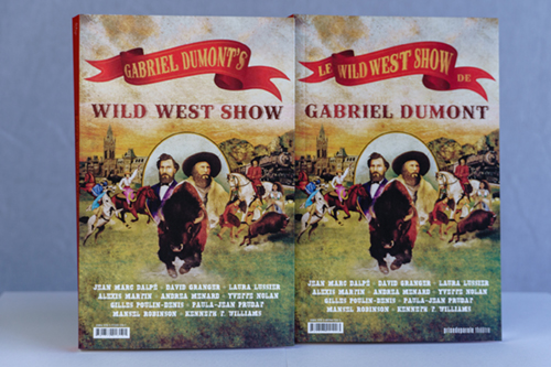 Cover of Gabriel Dumont's Wild West Show.