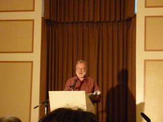 Frank Davey reads at Heritage Hall, Vancouver