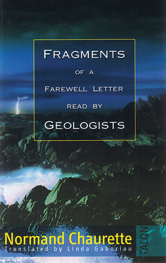 Fragments of a Farewell Letter Read by GeologistsFront Cover