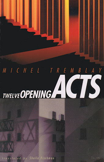 Twelve Opening ActsFront Cover
