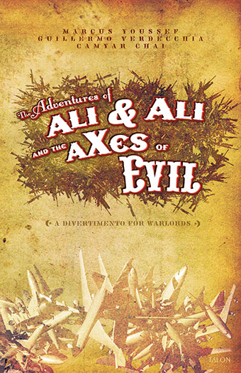Adventures of Ali & Ali and the aXes of EvilFront Cover