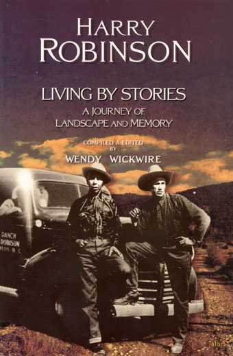 Harry Robinson: Living by StoriesFront Cover