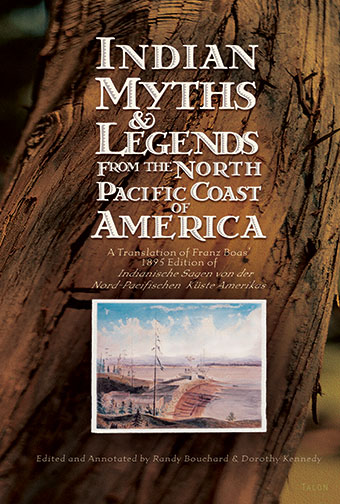 Indian Myths & Legends from the North Pacific Coast of AmericaFront Cover