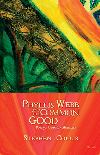 Phyllis Webb and the Common GoodFront Cover