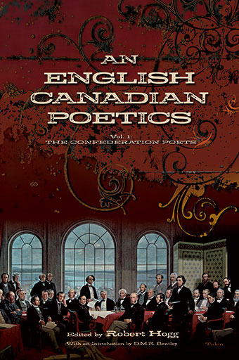 An English Canadian PoeticsFront Cover