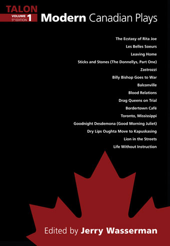 Modern Canadian Plays, (Volume 1, 5th Edition)Front Cover