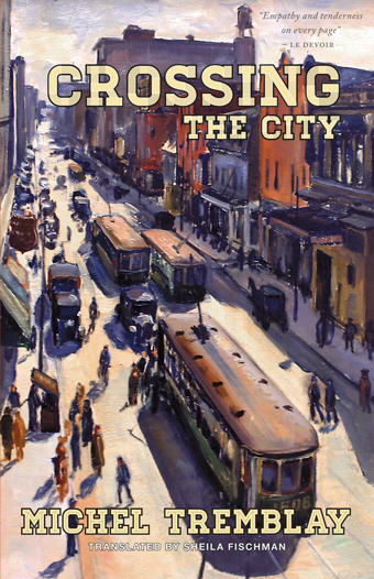 Crossing the CityFront Cover