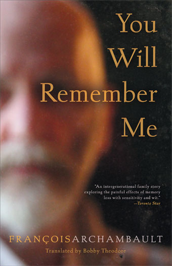 You Will Remember MeFront Cover