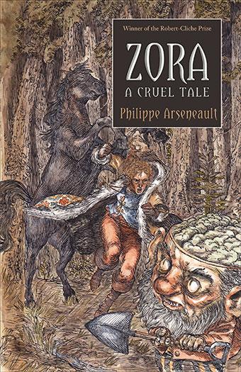 Zora, A Cruel TaleFront Cover