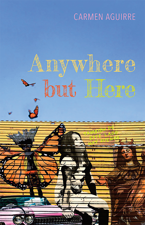 Anywhere but HereFront Cover